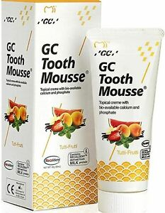 GC Tooth Mousse Tutti Fruity Topical Cream Calcium & Phosphate Toothpaste 40g