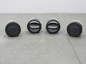 06-10 Jeep Commander XK AC Heater Air Vent Set of 4 Black - NA/NB Miata Retrofit