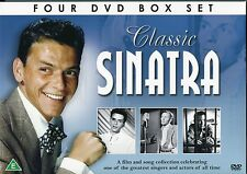 CLASSIC FRANK SINATRA 4 DVD BOX SET FILM & SONG COLLECTION - ONE OF THE GREATEST