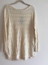 LAUREN Ralph Lauren Womens Plus Cable Knit Long-Slvs Pullover Sweater IVORY 1X