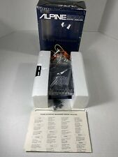 Vintage 20W X 4 , 5-Band Graphic Equalizer ALPINE 3000 .((Old School))