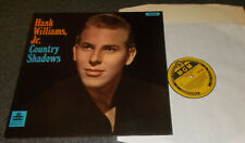 HANK WILLIAMS JR.-COUNTRY SHADOWS-MGM UK 1966 VINYL LP (M-/M-)