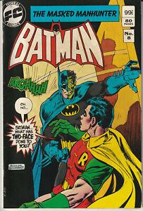 Australian: Batman #8 Federal Comics 1984 + Robin and Batgirl - 84 Pages