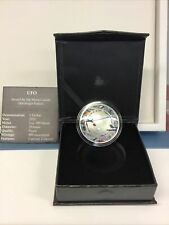 2020 Mesa Grande 1 oz Silver UFO Alien Invasion Curved Proof