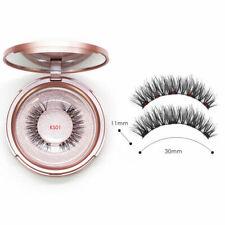 Magnetic False Eyelashes Natural Eye Lashes Extension Liquid Eyeliner Kit Set