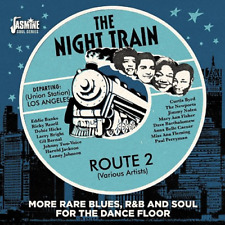 V.A.-NIGHT TRAIN ROUTE 2 -MORE RARE BLUES...-IMPORT CD WITH JAPAN OBI F30