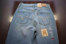 35963 New Womens Levi's 512 Slimming Straight Petite Stretch Denim Jeans 27 x 29