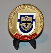 US Army 1st Battalion 325th Airborne Infantry 1998 MFO Sinai # Challenge Coin