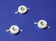 3 x 3w Power UV LED emisor 365nm Ultra Violet 5mm