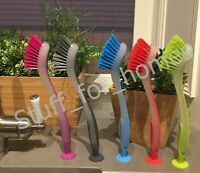 IKEA PLASTIS dish washing brush (5 colours) with suction cup washing up 15% OFF