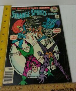 DC Super-Stars 10 comic book VG+ 1970s Batman Joker baseball Sports Stories