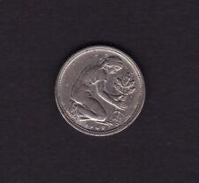 1949 Germany 50 Pfennig Coin