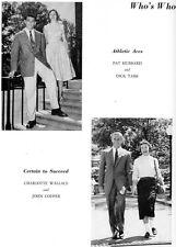 1957 Washington D.C. Wilson High School Yearbook~Photos~History~Football~++++