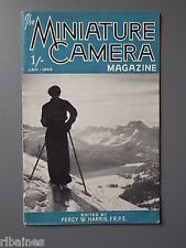 R&L Vintage Mag, The Miniature Camera January 1949, Photo TV/Unsharp Mask