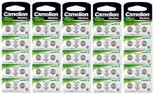 50 Stück Camelion AG10 Knopfzellen Uhrenbatterien Knopf Zellen LR 54 LR 1130 L 1