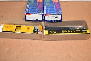 2 ROUNDHOUSE HO KITS  50' Gondola 1681 Railgon - 3003 36' Ventilated Box Car V&T