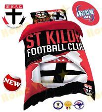 OFFICIAL AFL 2018 ST KILDA SAINTS QUILT DOONA DUVET COVER SET ~ BRAND NEW SINGLE