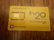 H20 WIRELESS NOW UNIVERSAL SIMCARD