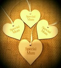 Mothers Day Wooden Gift Tag Special Mum