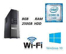 FAST Dell Optiplex ULTRA Desktop Core i5  Windows 10 PC WIFI