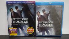 ** Sherlock Holmes: A Game of Shadows (Blu-ray + DVD) - Free Shipping!