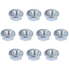 New 10 PCS Metal Bar Nuts 8mm Replacement Fit for Husqvarna & Jonsered Chainsaw