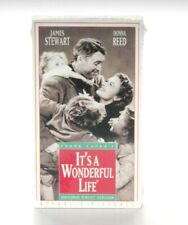 NEW IT'S A WONDERFUL LIFE VHS, 1993 UNCUT By FRANK CAPRA, EXCLUSIVE MUSIC VIDEO
