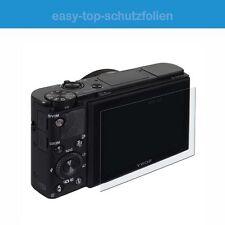 Canon EOS 77D - 3x antireflex Displayschutzfolie - Anti-Shock Schutz Folie