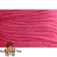 Deluxe Worsted Universal Yarn HONEYSUCKLE Wool #4 Weight 220yd It Felts! Pink