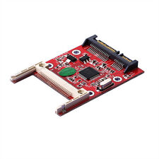 CF Compact Flash Type I/II to SATA connector serial DMA Card Adattatore