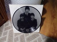 """THE SAVAGE YOUNG BEATLES 10"""" PICTURE DISC"""