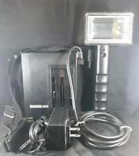 METZ 402 Flash Gun w Power Supply Case, Cable and Bracket - vintage