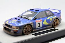 1/18 Top Marques Subaru WRC S4 Dirty Version McRae Winner 1998  Free Shipping
