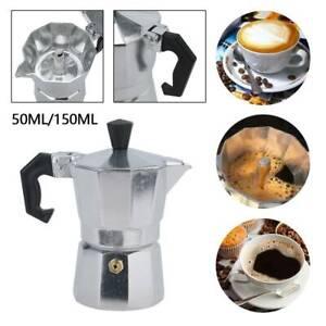 Italian Espresso Maker 1, 3 Cup Italian Stove Top Coffee Percolator Moka Pot