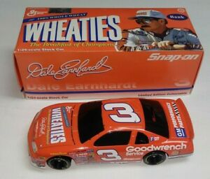 1997 ACTION DALE EARNHARDT #3 BANK GOODWRENCH WHEATIES 1/24 DIECAST CAR