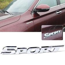 Hot Sport Word letter 3D Chrome metal Car Sticker Emblem Badge Decal Auto Decor