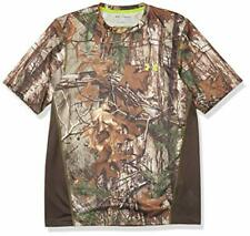 Under Armour Men's Tech Scent Control T-Shirt, Realtree Ap-Xtra /Velocity,