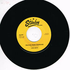 LINK DAVIS - DON'T BIG SHOT ME / TRUCKER FROM TENNESSEE (New ROCKABILLY Repro)