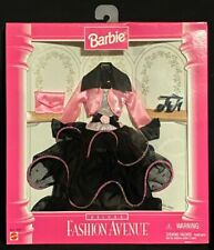 MATTEL Barbie Fashion Avenue Deluxe Pink and Black Gown from 1996 #14307