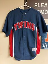True Fan MLB Minnesota Twins Johan Santana #57 Baseball Jersey sewn stitched  M