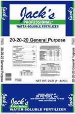 2LB JR Peters Jacks Water-Soluble Fertilizer 20-20-20 + Micro Nutrients