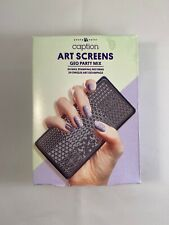 Caption Nail Art Screen Set