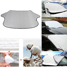 All Seasons Aluminum Film W/Cotton Car Windshield Snow Cover Sunshade Protector