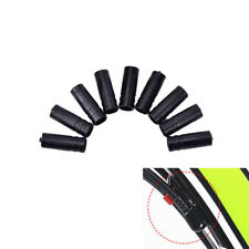 100Pcs4mm Bike Bicycle Cycling Brake Cable Crimps Housing Plastic End Tips CapRn