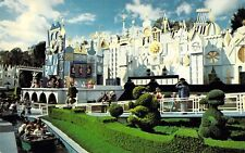 Disneyland 0100-10358, Its A Small World, After All, Old Postcard