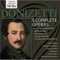 Verschiedenen - Donizetti: 5 Komplett Opern Neue CD