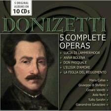 Various - Donizetti: 5 Complete Operas NEW CD