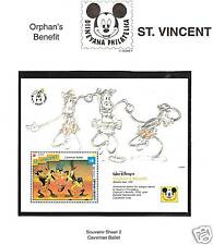 ST. VINCENT # 1800 DISNEY MICKEY'S ORPHAN'S BENEFIT