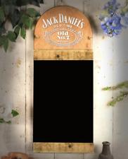 Jack Daniels Blackboard Message Chalk Black Board Large Kitchen Pub Menu Wall