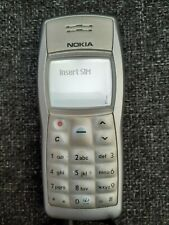 Retro Vintage Nokia 1101 Light Silver Mobile Phone Charger - Excellent Condition